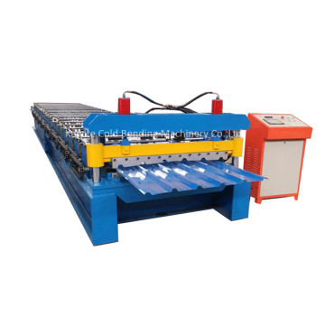 Glazed IBR Iron Sheet Roll Forming Machine