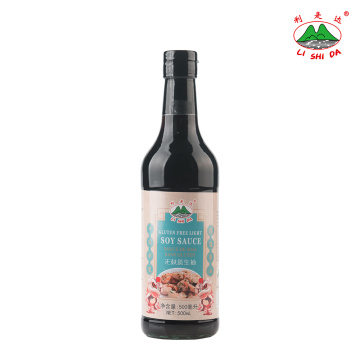 Gluten Free Light Soy Sauce 500ml