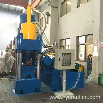 Hydraulic Metal Sawdust Debris Block Making Machine