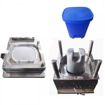 Household Plastic Dustbin Injection Mould