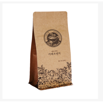 Kraft Paper Ziplock Packaging Bag