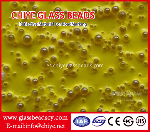 Drop-on Glass Beads