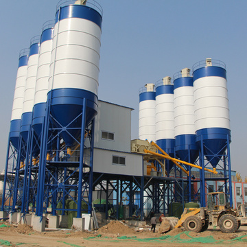 Stationary Type Advanced 180m3 concrete batching plant