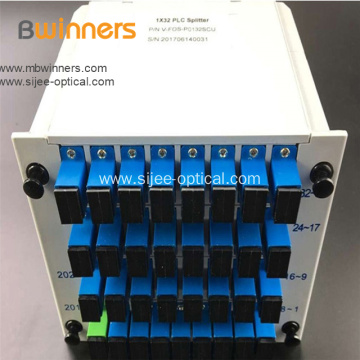1X32 Singlemode Fiber Optic Splitter