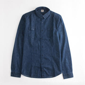 Anti-static Long Sleeve Regular Dyed Casual Shirt