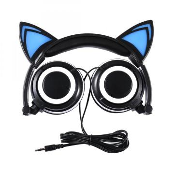 Benutzerdefiniertes Logo Wired Stereo Cat Headphones