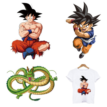 Hot Dragon Ball clothes iron on embroidery patches