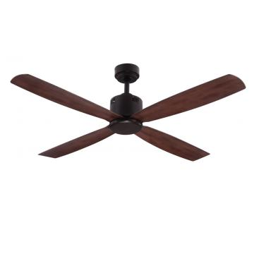 multi-color wall control decoration Ceiling Fan 4 blades
