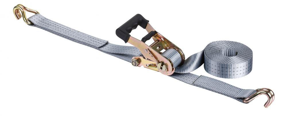 35mm Rrope Ratchet Lashing Belt Strap with Soft Rubber Handle