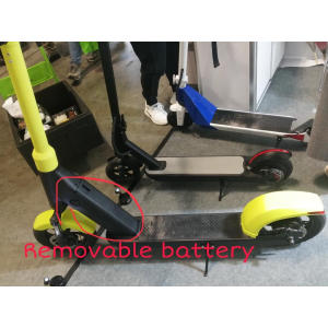 Removable battery electric scooter
