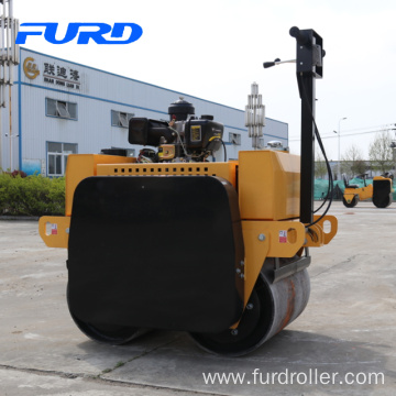 Road Construction Equipment Walk Behind Double Drum Road Roller (FYL-S600C)