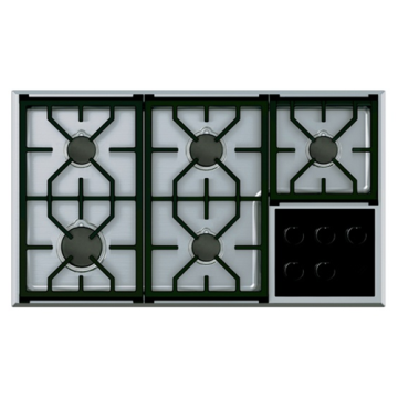 Gas Cooktops UK Wolf 5 Burner