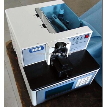 Automatic Button Wrapping and Knotting Machine