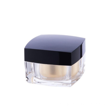 5/15/30/50ml High-grade acrylic cream jar,Square face cream jar Acrylic cosmetic bottle
