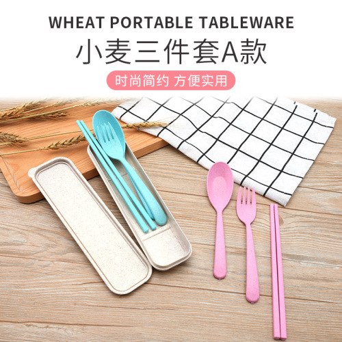 Eco-friendly Plastic Cutlery with Packing Box
