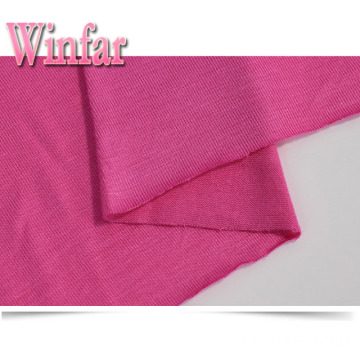 Single Jersey Stretch 100% Rayon Fabric