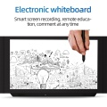 wooden smart blackboard touch screen