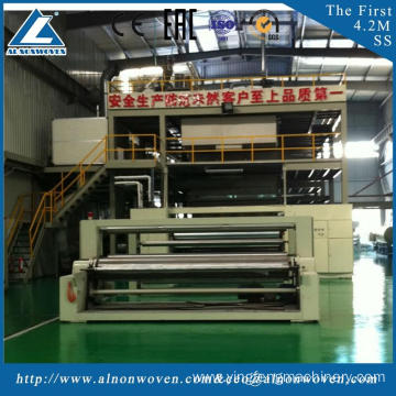 High quality AL-3200 SS 3200mm non woven fabric making machine with CE certificate