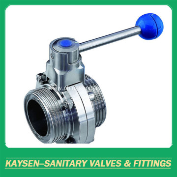 SMS Hygienic  Butterfly Valves Male End