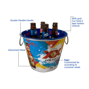 ice buckets for party