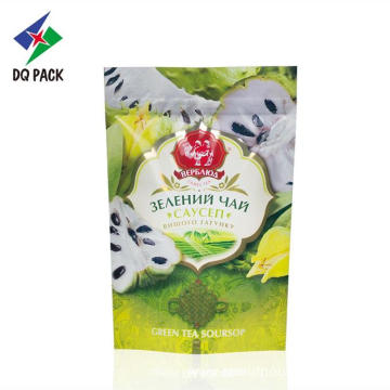 Empty Tea bags Three Side Sealed Packaging Bag