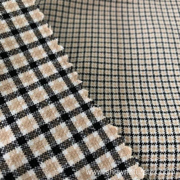 Double Lawyer Yarn Dyed Check Fabric