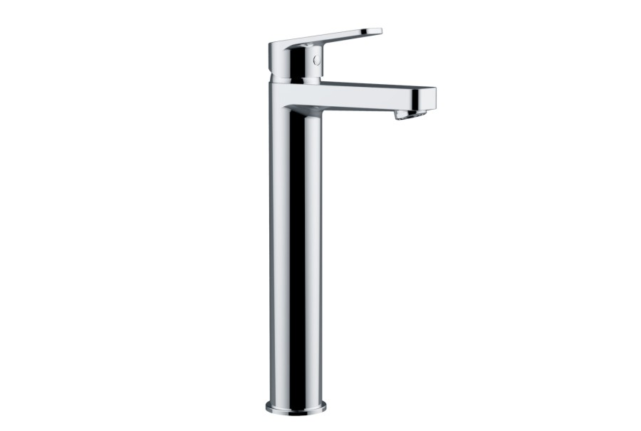 High Basin Chrome Mixer