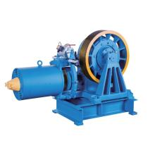 VVVF Drive Geared Elevator Traction Machine , 7000kg Static Capacity YJ245-B
