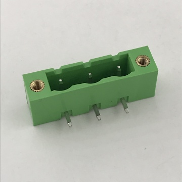 7.62mm pitch PCB right angle flange terminal block