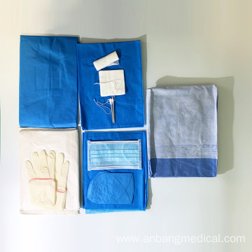 Disposable sterile clean surgical delivery kit