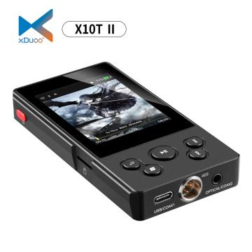XDUOO X10T II DSD128 PCM 384KHz/32Bit X10TII High Performance Lossless Music Bluetooth Digital Turntable MP3 Player