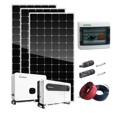 High effciency alternative energy 5kw solar kit