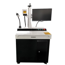 50w Desktop CNC Military Dog Tag Fiber Laser Printing Machine