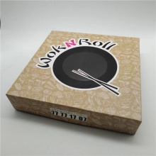 Sushi Paper Food Package Box Supply