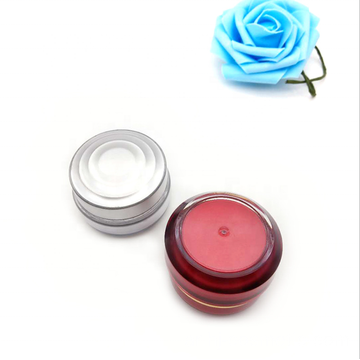 Wholesale high grade acrylic square cosmetic jars with good price