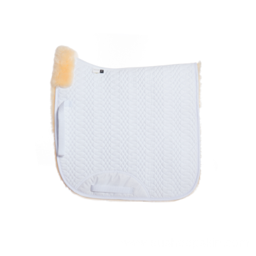 High Quality Quilted Sheepskin Numnah Saddle Pad