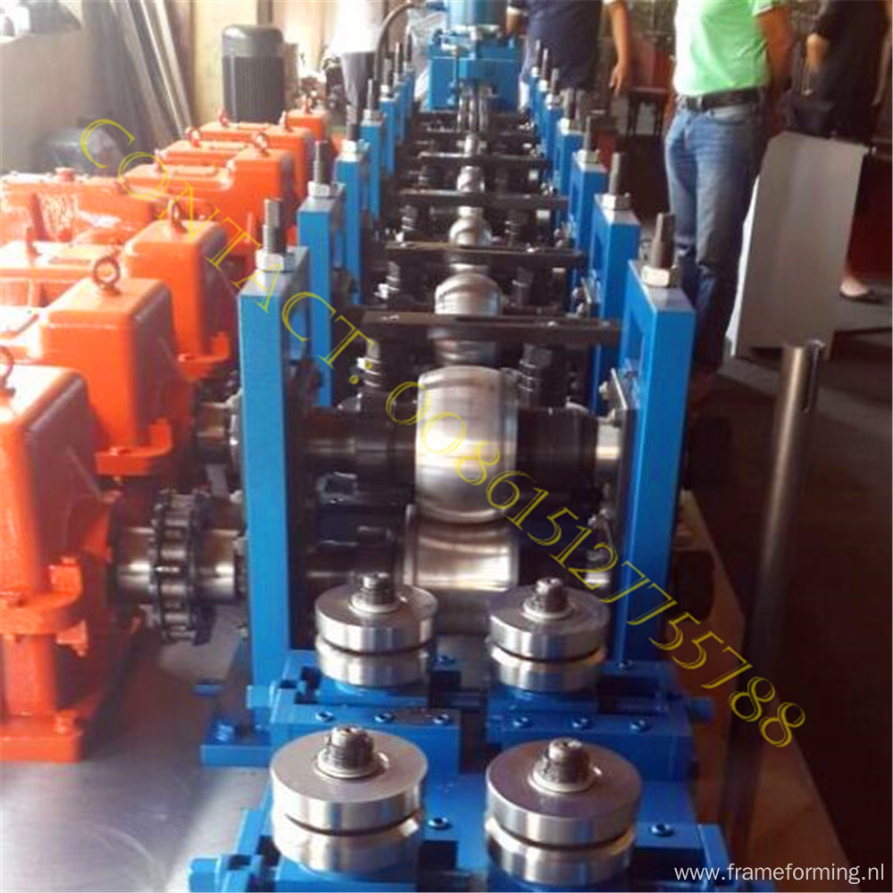 High strength coal mine roof bolt expansion shell machine