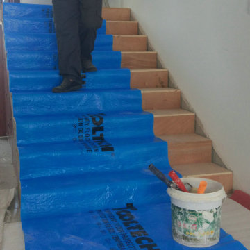Stone and Parquet Floor Protector For Painting