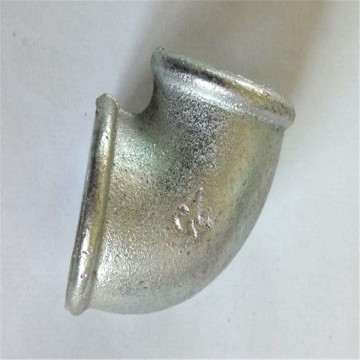 malleable casting iron pipe fitting beaded with ribs