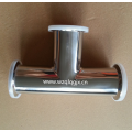 304/316L Sanitary Stainless Steel Clamp Tee