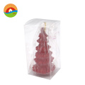 cone shape real wax candles with remote