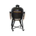 Portable Egg-shaped Ceramic  Tabletop BBQ Grill Kamado