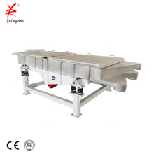 Mining linear vibrating screen for the different sizes of the grains