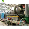 Pyrolysis of Waste Tyre Plant