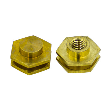 factory direct saling brass pressure knurled rivet nut