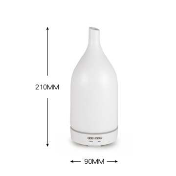 White Ceramic Ultrasonic Aroma Essential Oil Scent Diffuser
