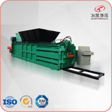 Manual Belting Horizontal Plastic Paper Hay Straw Baler