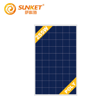 Best price Solar Poly Panel 255w 60cells
