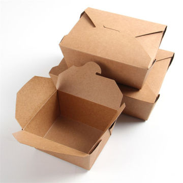 take-out kraft paper box