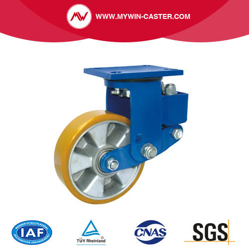 Plate Shock Absorbing Caster
